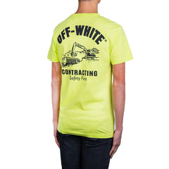 Off White Construction Tee (Green/Black)