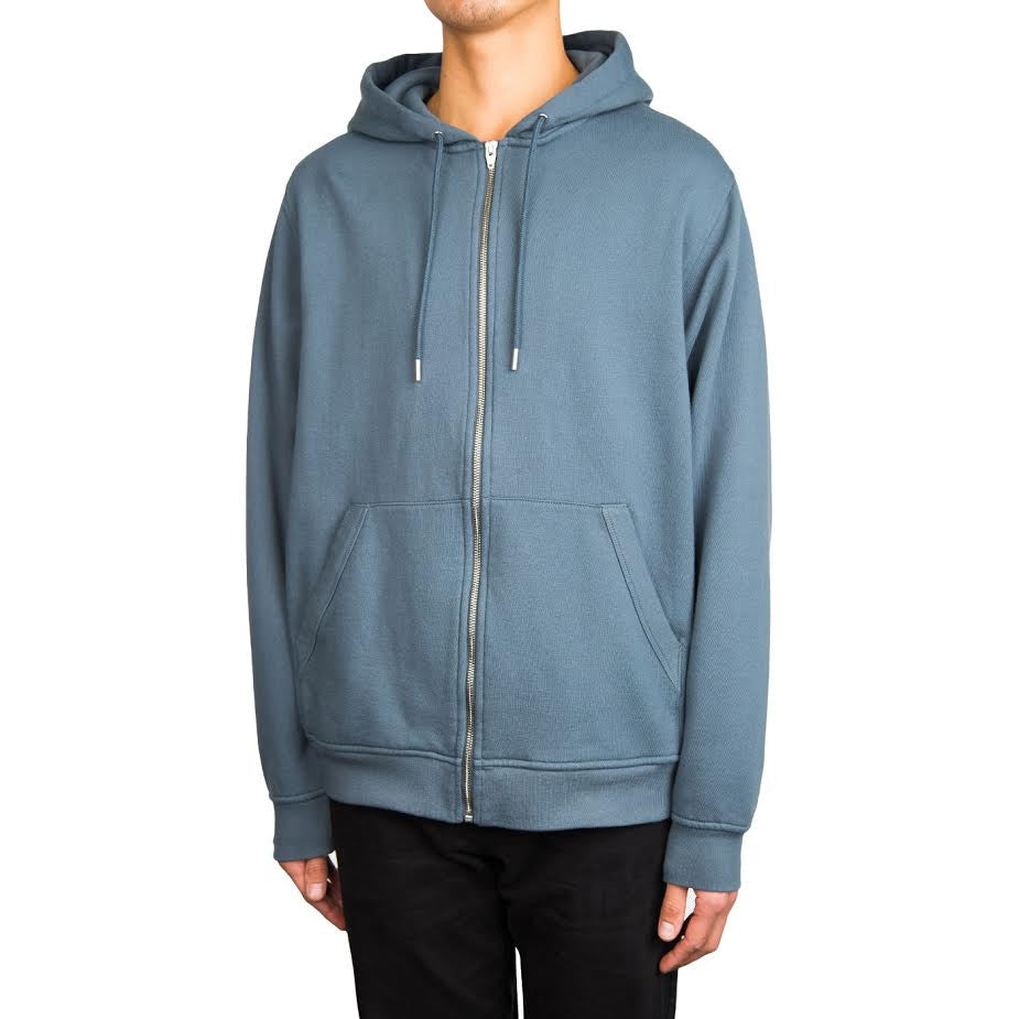 T By Alexander Wang Zip Up Hood (Steel)