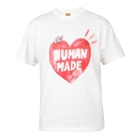 Human Made Heart Eyes Tee (White)