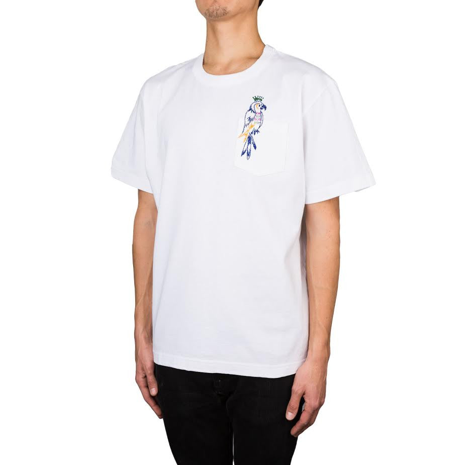 Sacai Dixie Cotton tee (Off White)