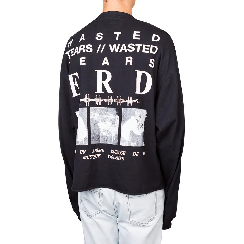 Enfants Riches Deprimes Wasted years L/S (Black)