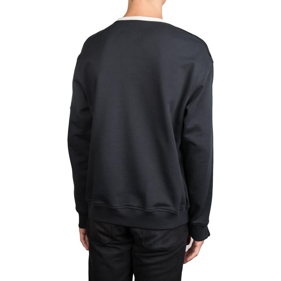 3.1 Phillip Lim Roll Edge Sweathshirt (Black)