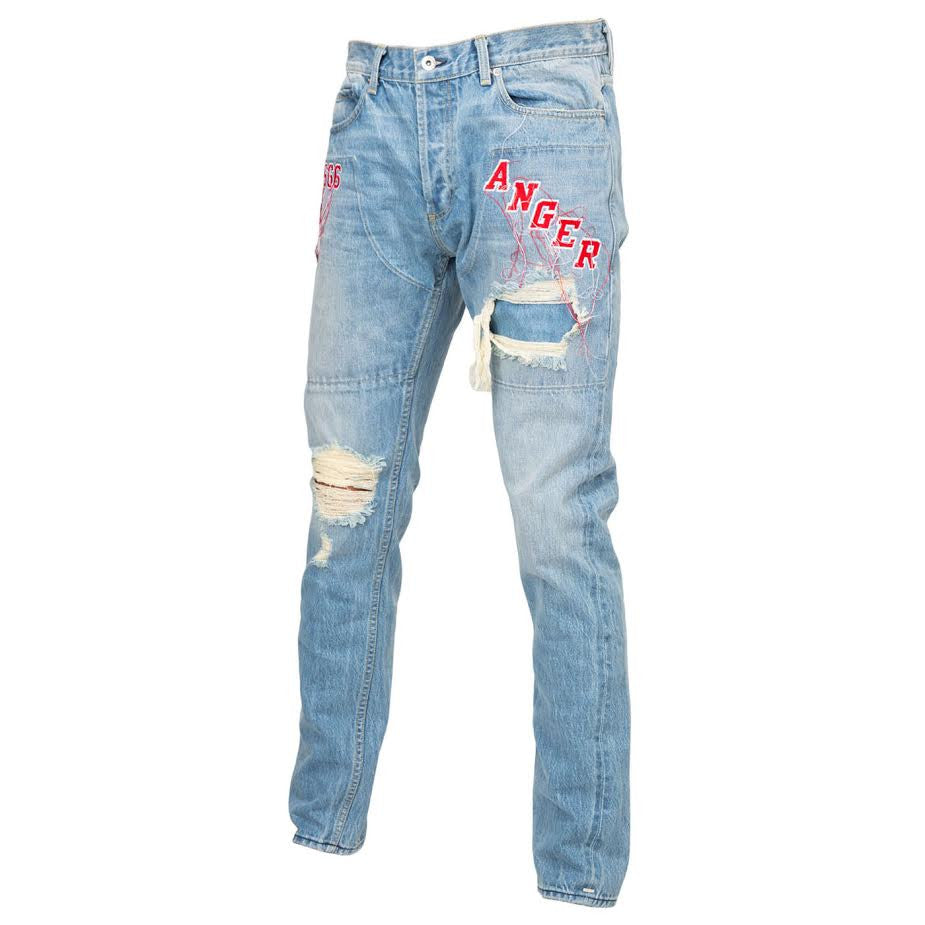 Mr Completely Anger Denim (Blue)
