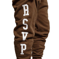 RSVP Gallery Logo Sweatpant (Brown)