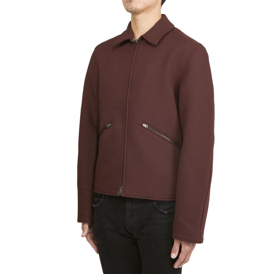 Acne Miles Jacket (Burgundy/InkBlue)
