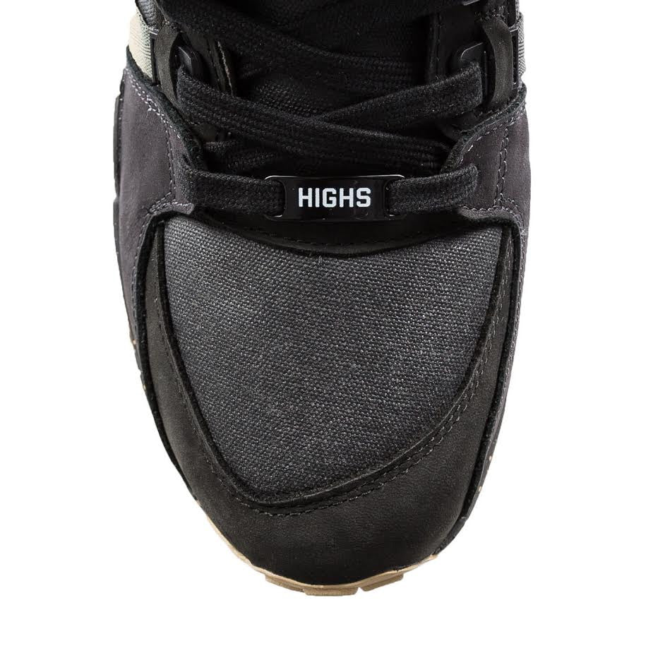 Adidas x Highs and Lows EQT Support 93 Interceptor (Black)
