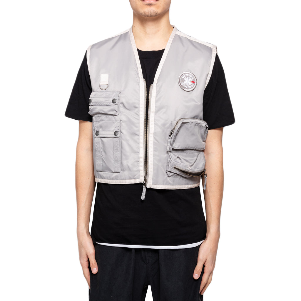 032c Cosmic Workshop Vest, Silver