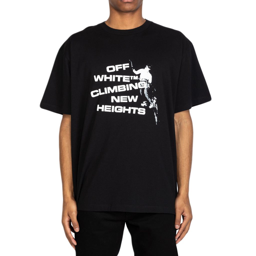 Off-White SS20 New Heights S/S Over Tee, Black/White
