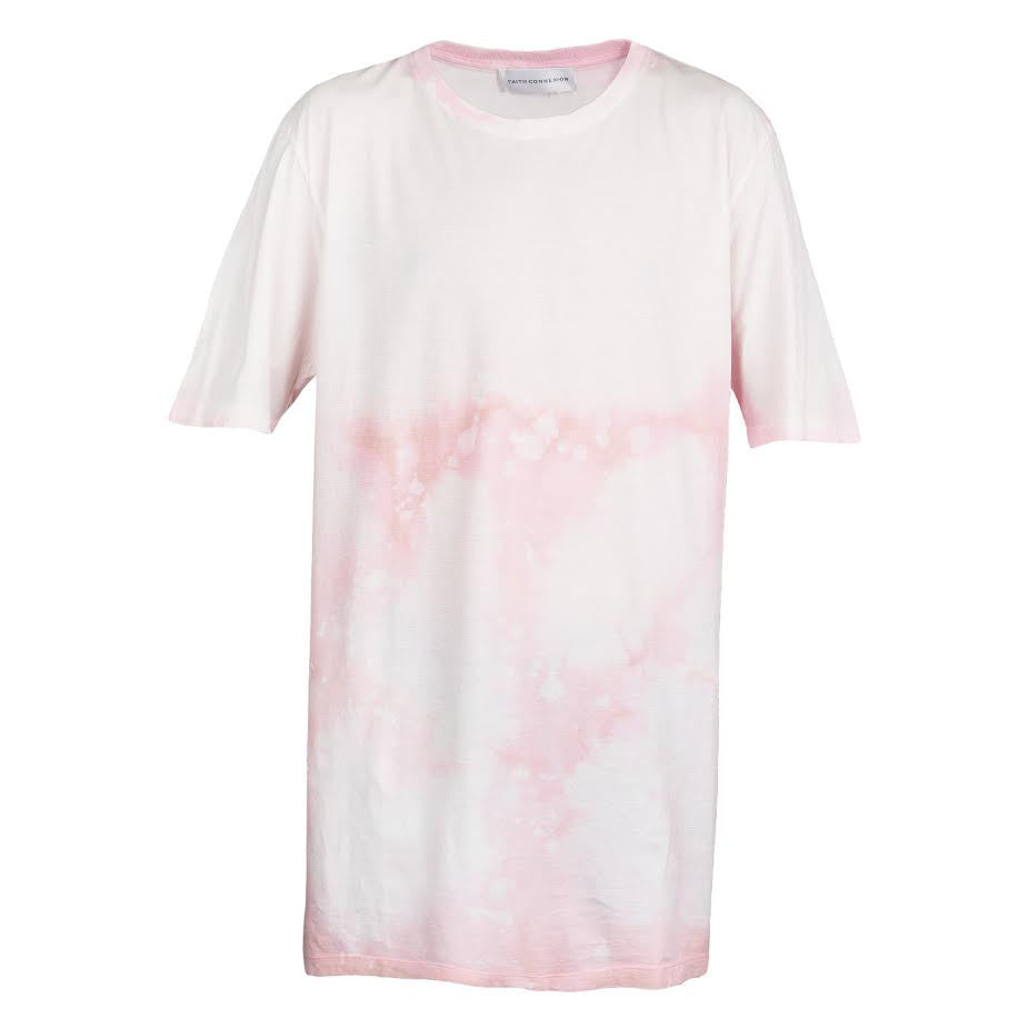 Faith Connexion Over Tee (Pink)