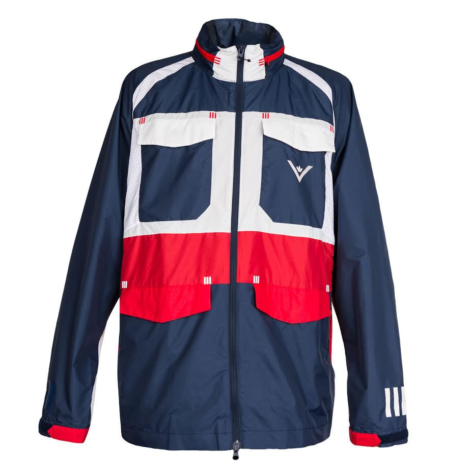 Adidas X White Mountaineering Field Windbreaker (Navy)