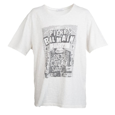 Pierre Balmain FW16 Punk Tee (Off White)