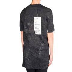 11 By Boris Bidjan Saberi Stained Tee (Black)