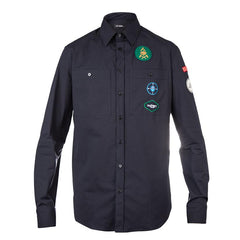 Raf Simons Scouts Shirt with Badges (Navy)