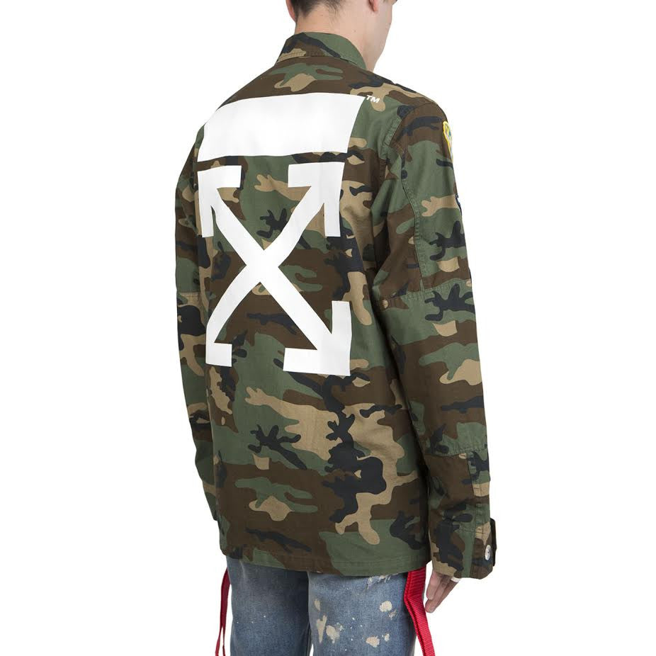 Off-White Archive Field Jacket (Camo)