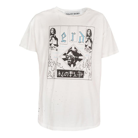 Enfants Riches Deprimes Bohemian Elitist ScumTee (White)
