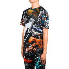 Christopher Kane Car Crash Tee (Multi)