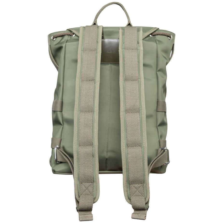 A.P.C. Sylvain Backpack (Olive)