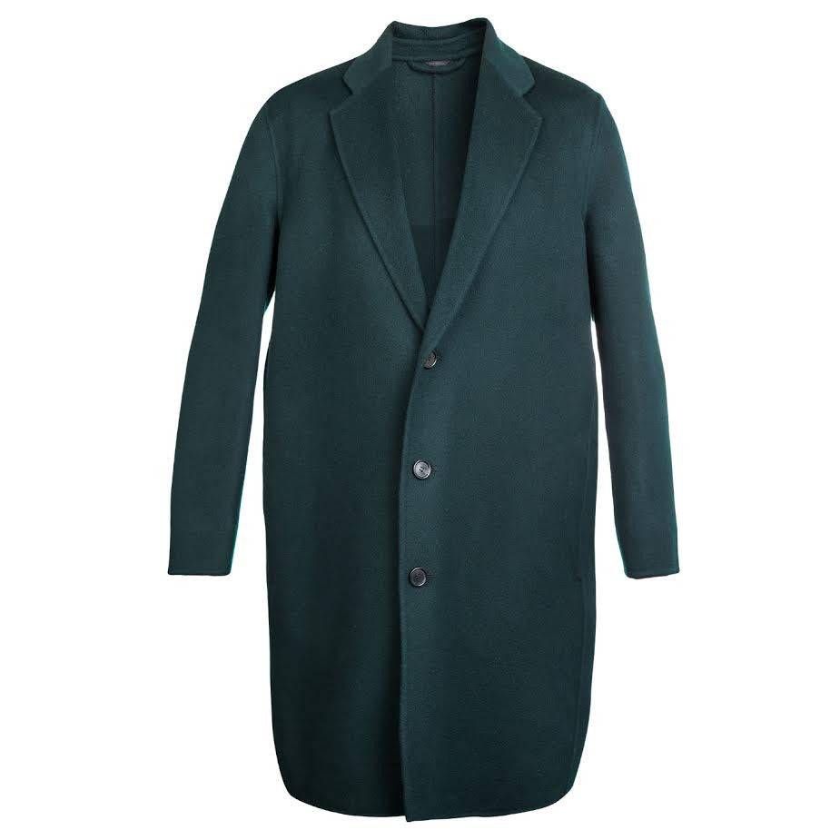 Acne Charles Coat (Green)