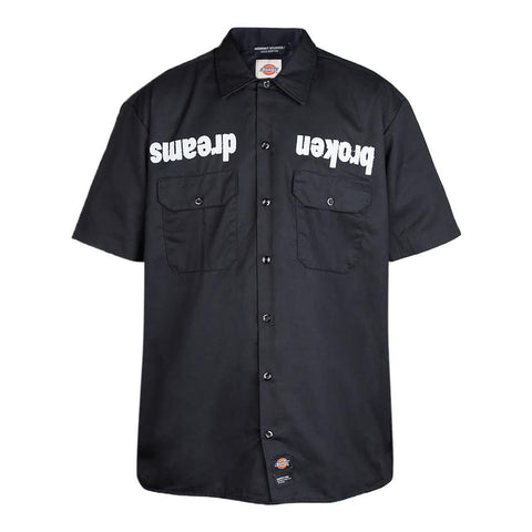 Midnight Studios Broken Dreams Work Shirt (Black)