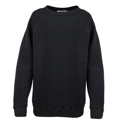 Robert Geller Textured Crewneck (Navy)