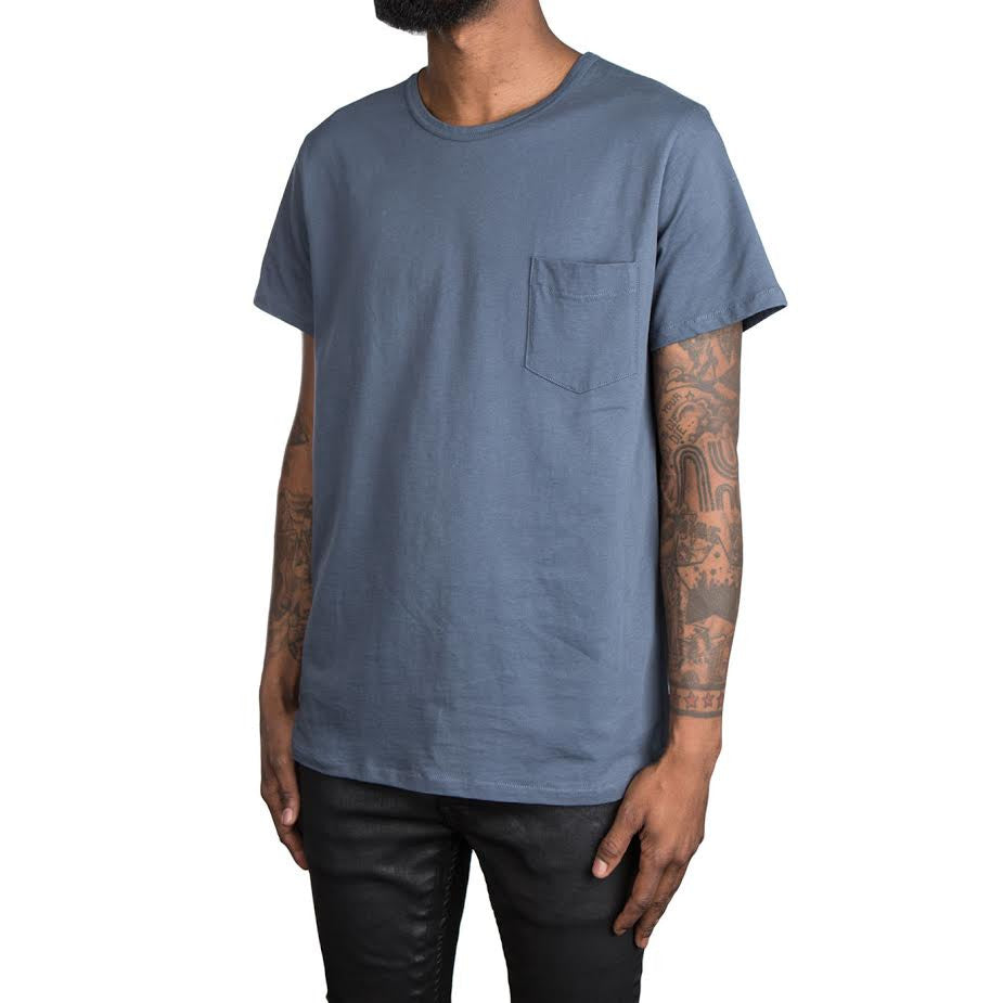 A.P.C. Stitch Pocket Tee (Navy)