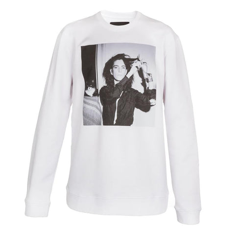 Raf Simons Patti Smith Sweatshirt (White)