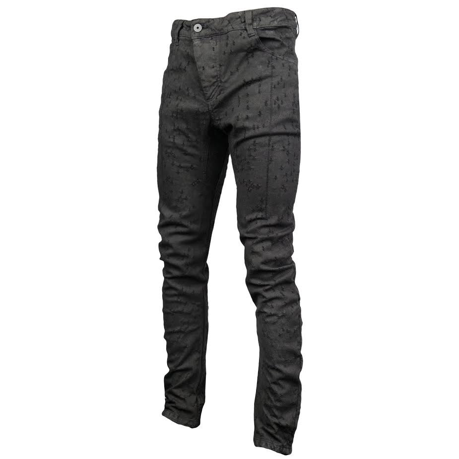 11 By Boris Bidjan Saberi Destroyed Denim (Black)