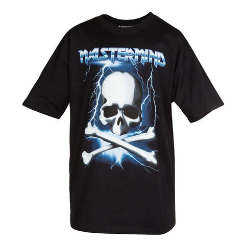 mastermind JAPAN Iron Maiden Font Tee (Black)
