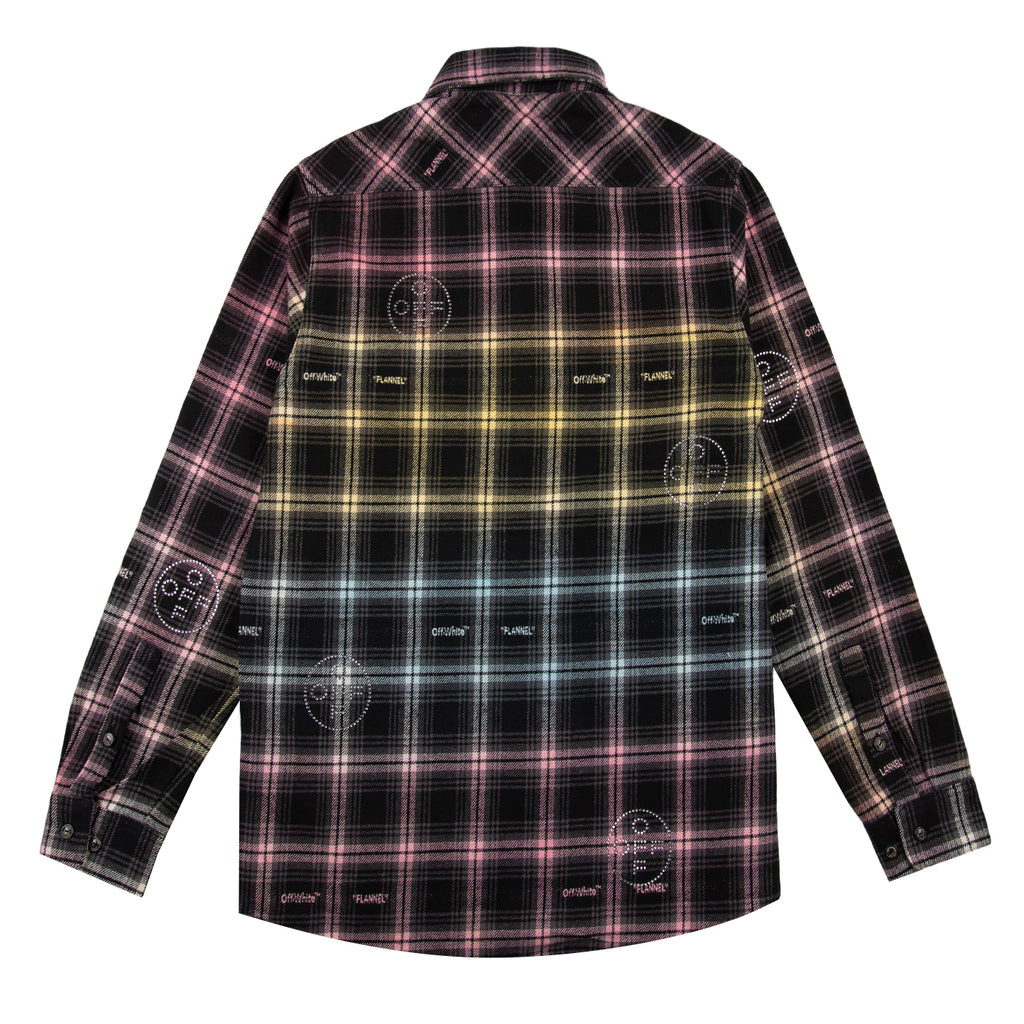 Off-White SS21 EV Flannel Shirt, Multi