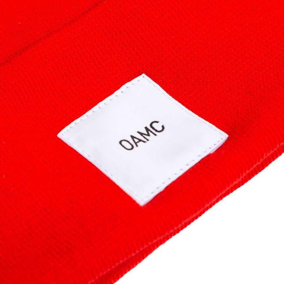OAMC Watch Cap (Red)