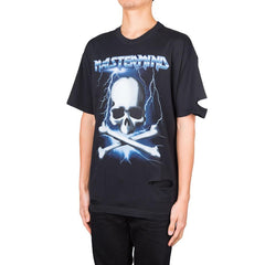 mastermind JAPAN Iron Maiden Distressed Tee (Black)