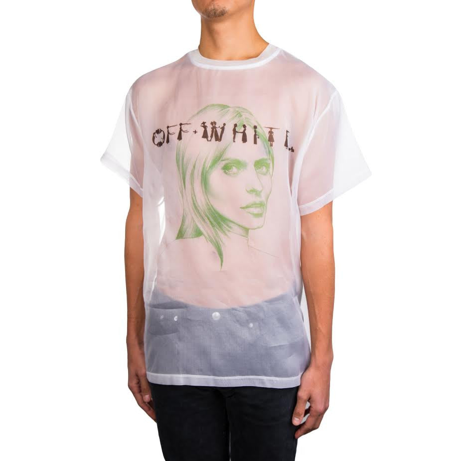 Off White Till Death Organza Tee (White)