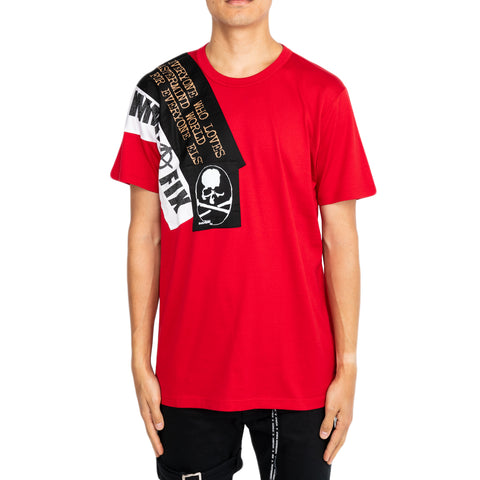Mastermind SS19 Gimme Fix T-Shirt, Red