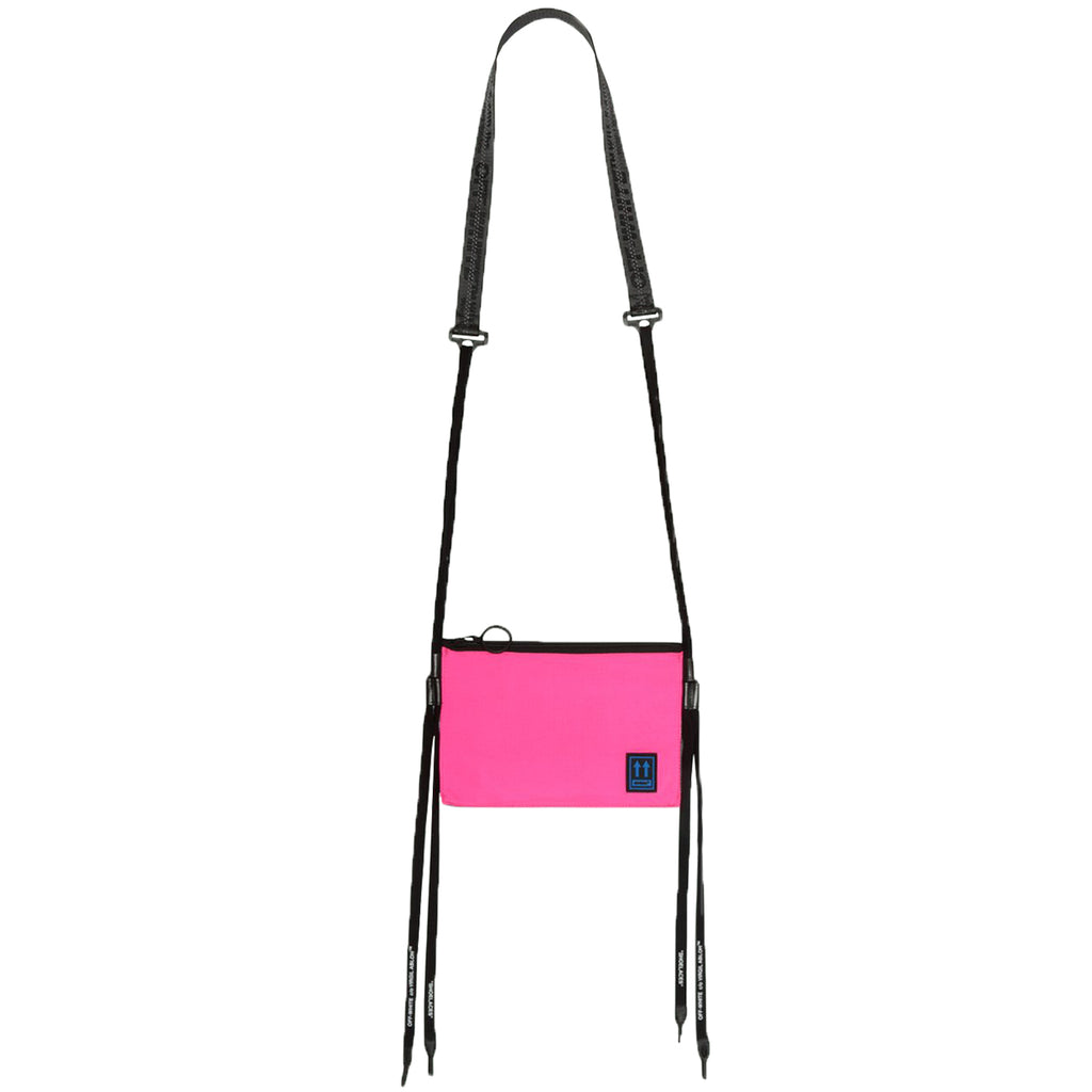 Off-White PF19 Flat Crossbody, Fuchsia