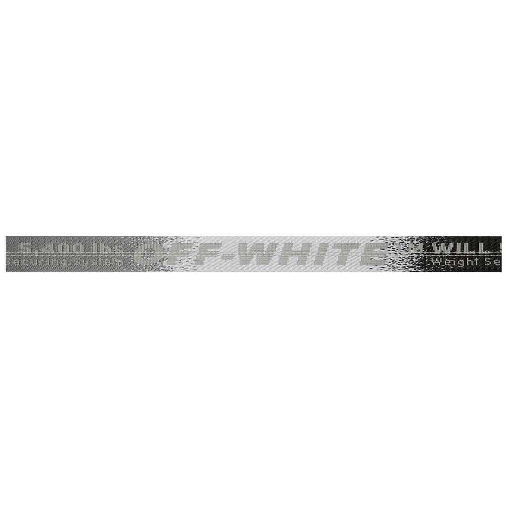 Off-White PF19 Industrial Belt, Medium Grey
