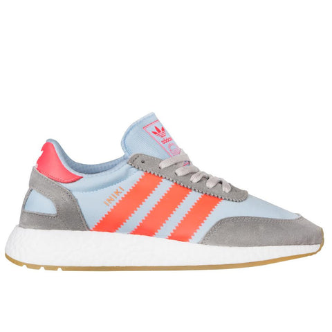 Adidas Iniki Runner  (Grey/Red)