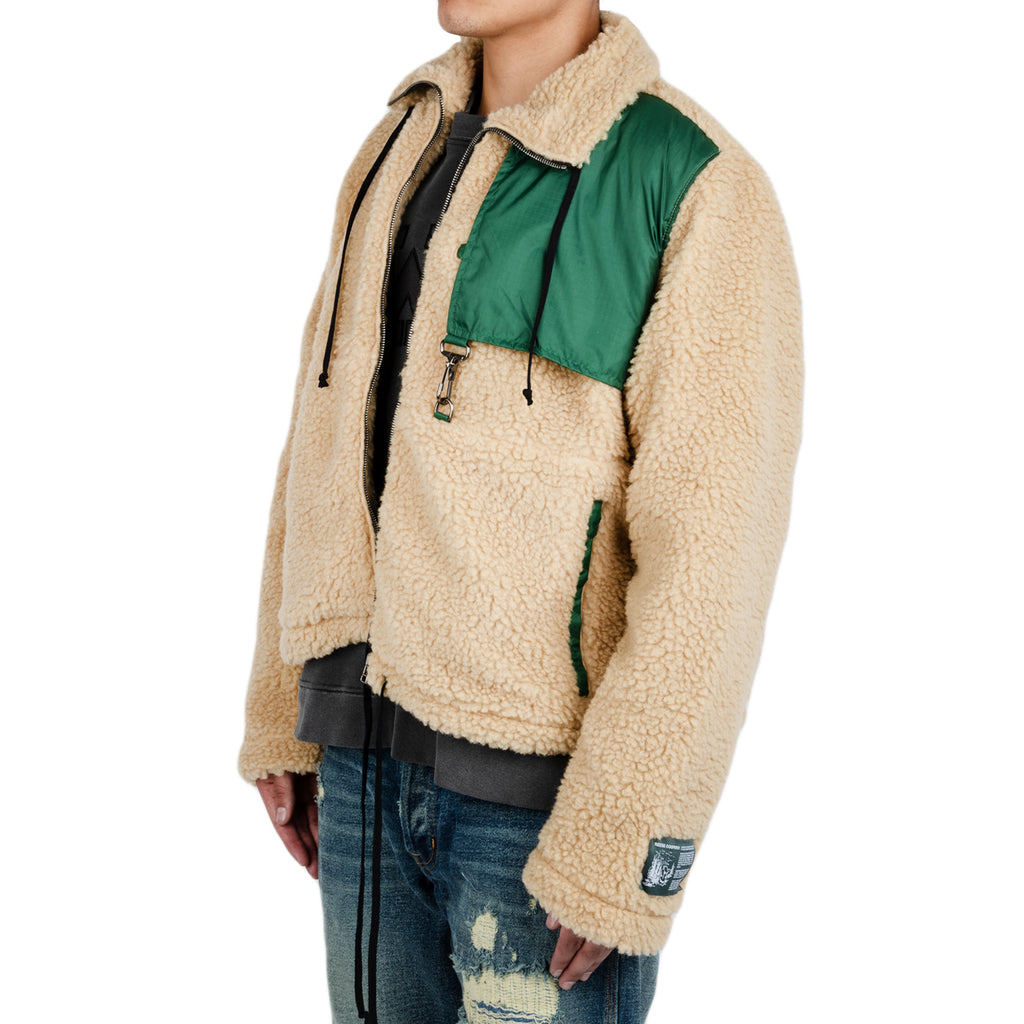 Reese Cooper FW19 Cropped Sherpa Fleece