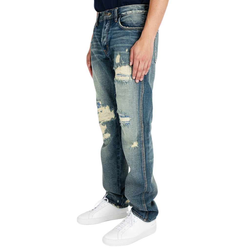 Reese Cooper FW19 Patched Denim Jeans