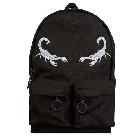 Off White Scorpion Backpack (Black)