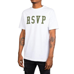 RSVP Gallery Logo Tee (White/Green)