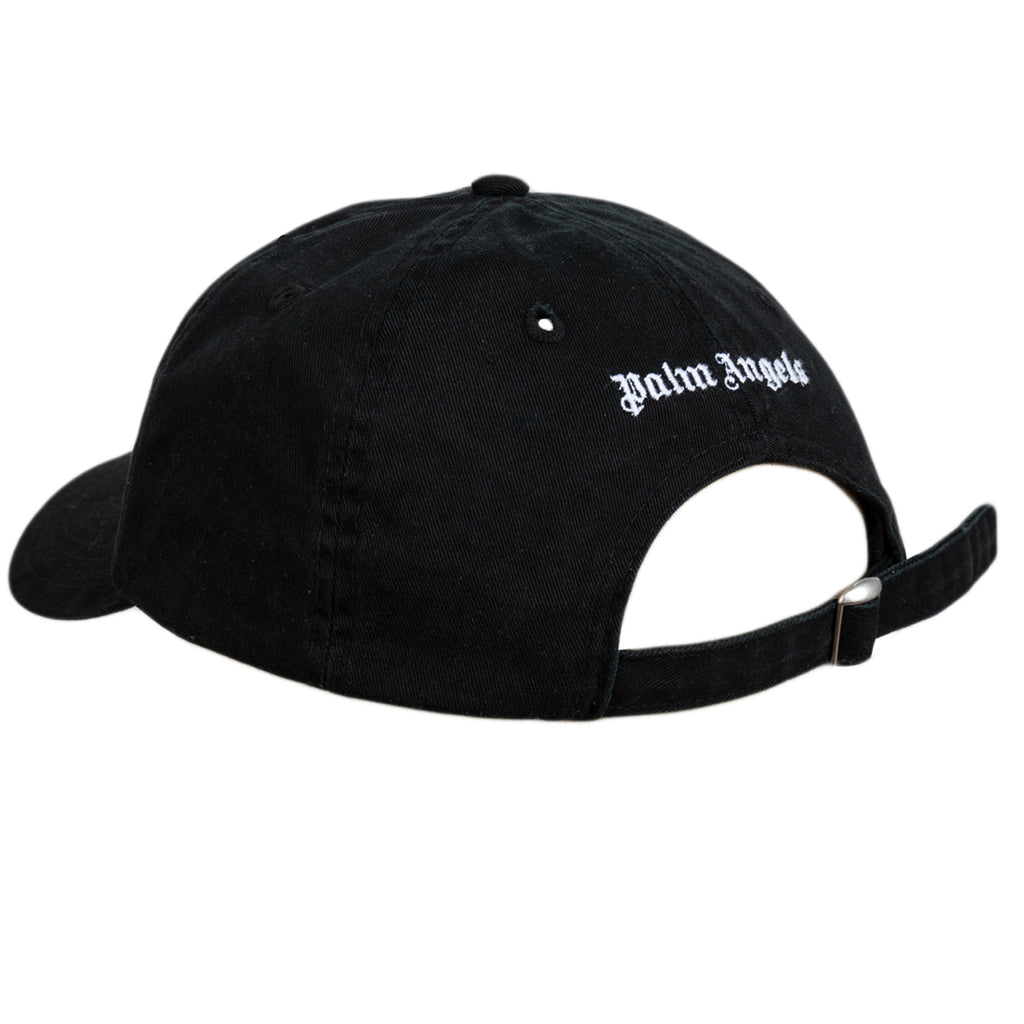 Palm Angels FW19 Metal Palm Baseball Cap, Black/Green
