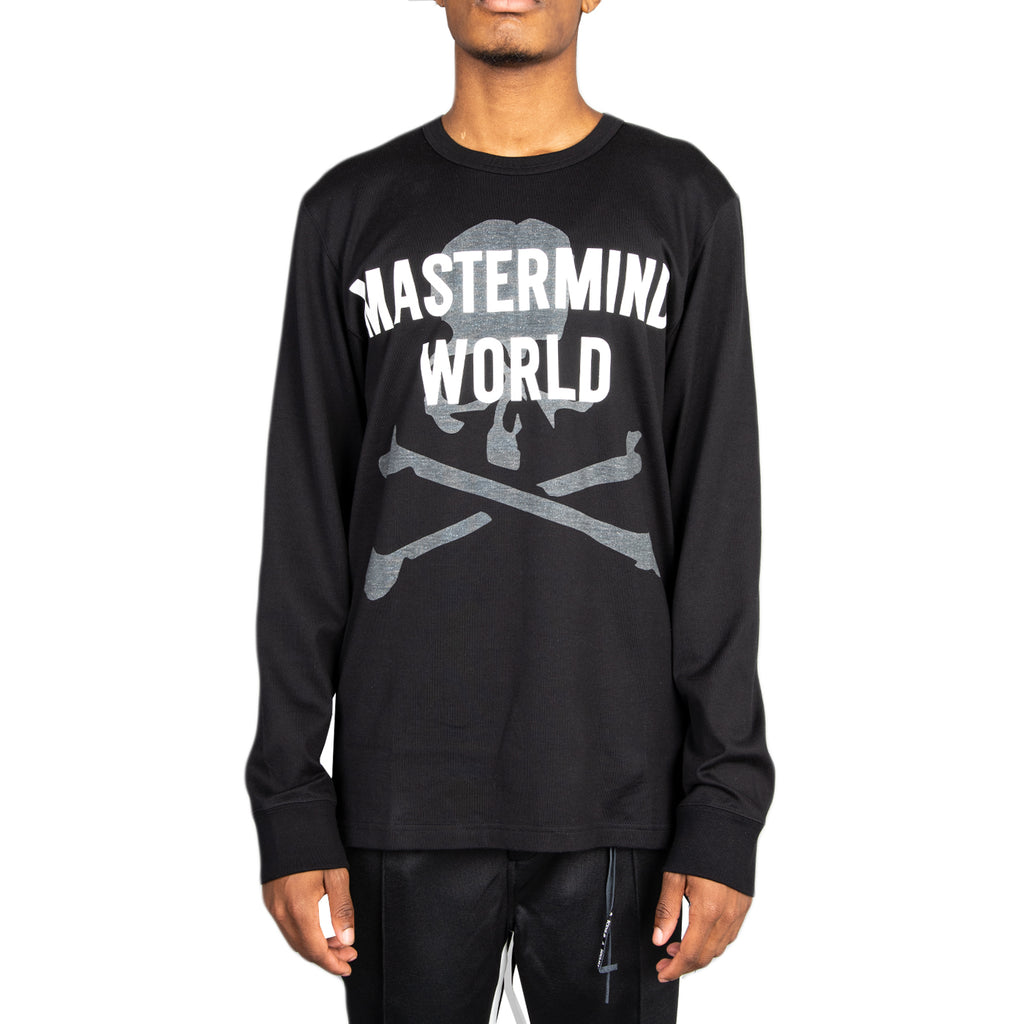 "Mastermind FW19 ""Mastermind World"" T-Shirt, Black"