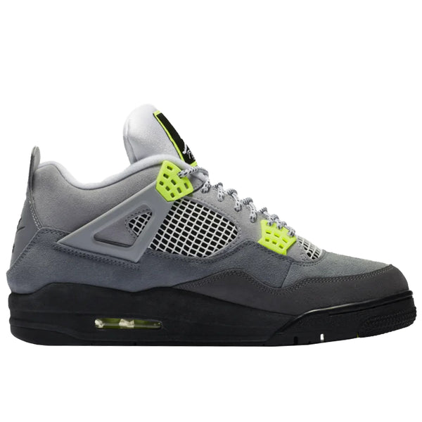 "Air Jordan 4 Retro SE ""Neon"", Cool Grey/Volt-Wolf Grey"