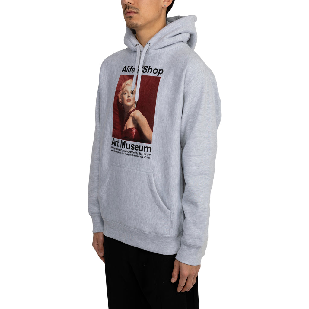 Alife FW19 Monroe/Sam Shaw Pullover, Heather Grey