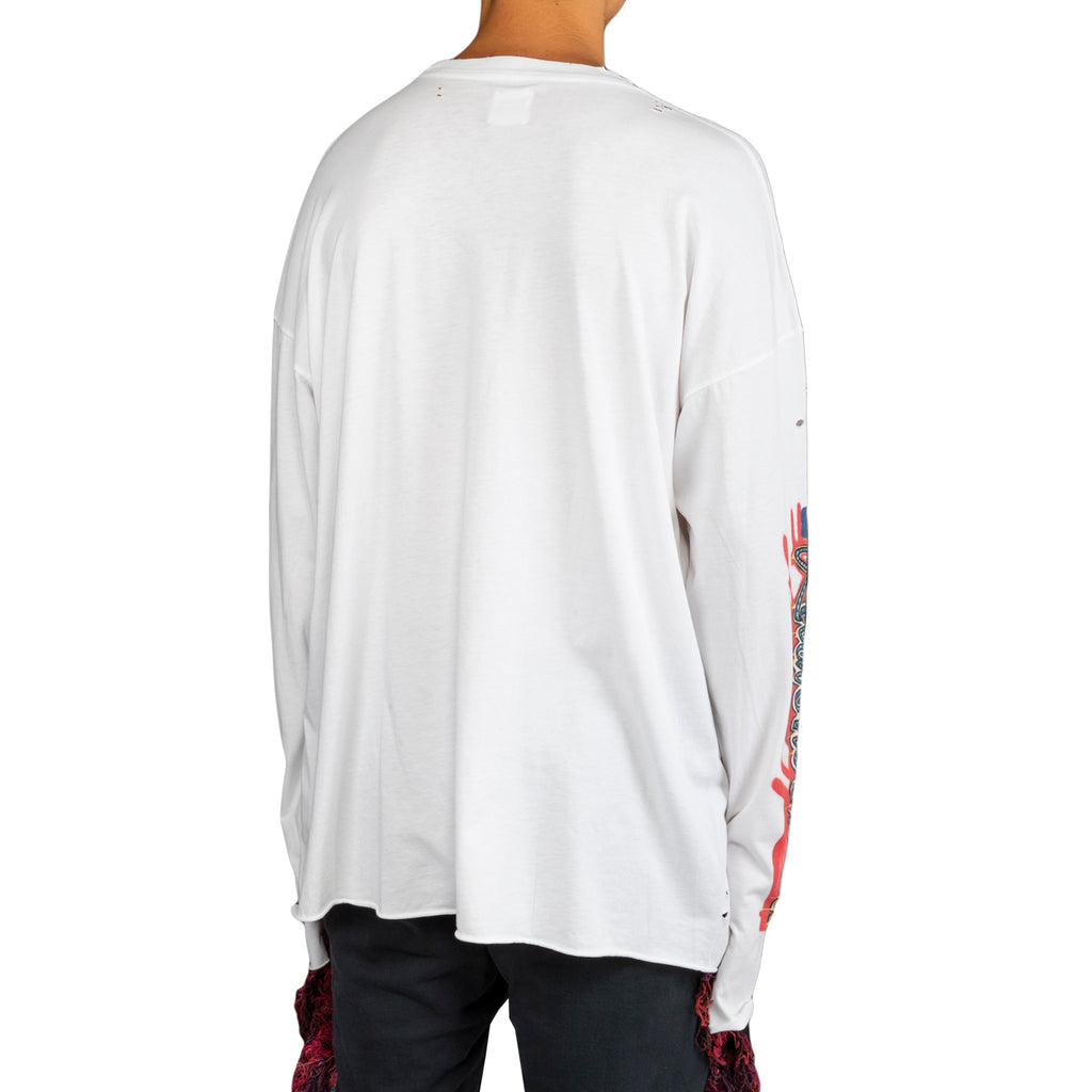 Alchemist FW19 L/S Tee , Washed White