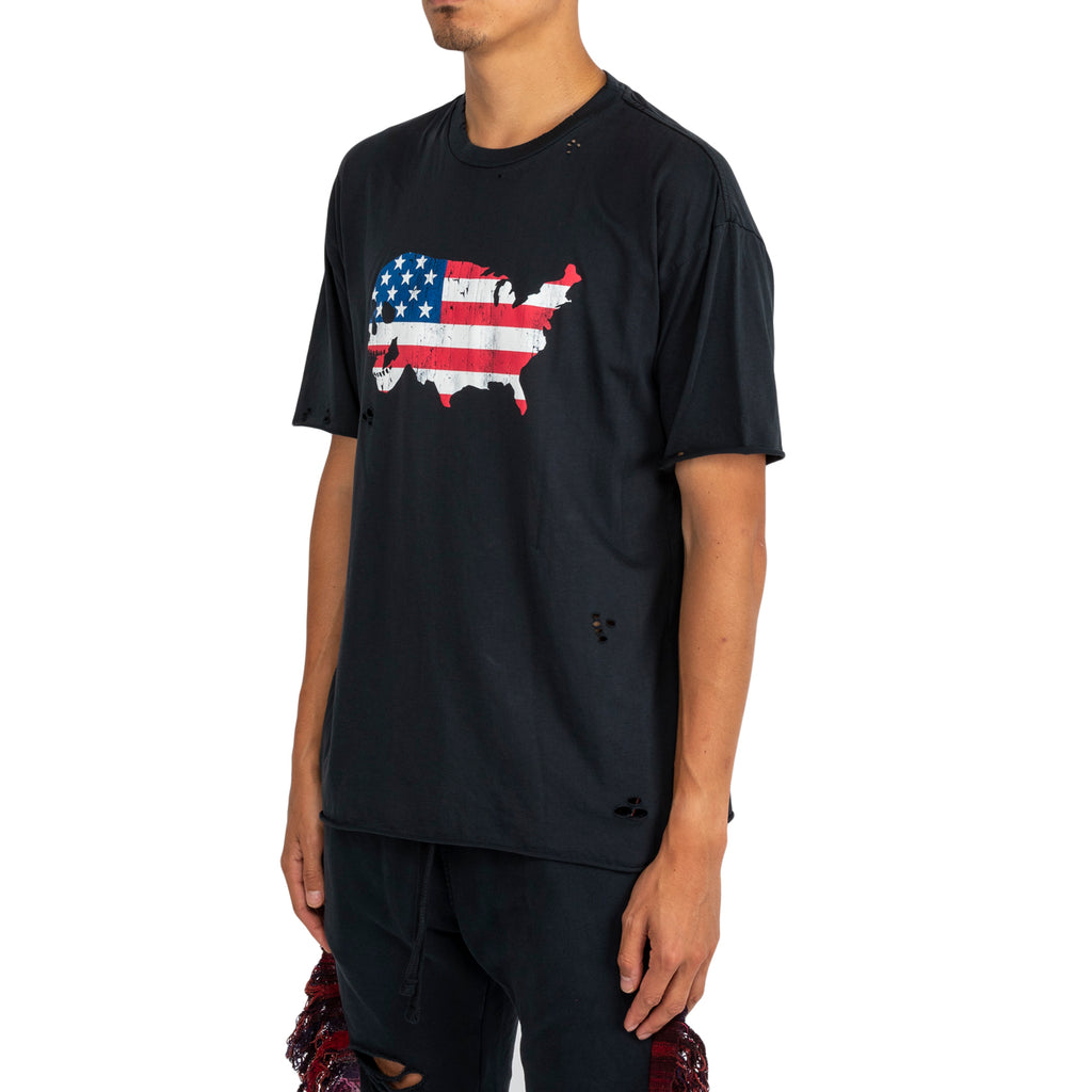Alchemist FW19 USA Born S/S Tee, Black