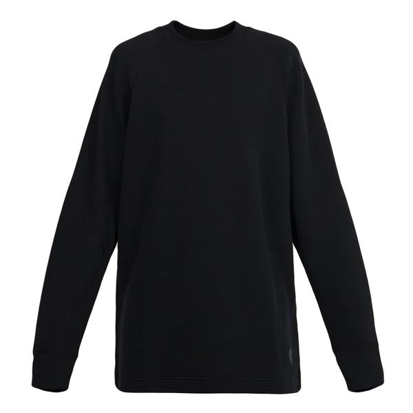 Adidas WH Double Waffle Knit LS Crew (Black)