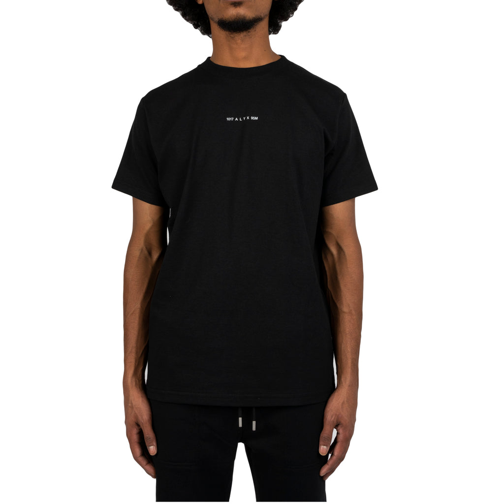 1017 Alyx 9sm FW19 S/S Visual Tee, Black