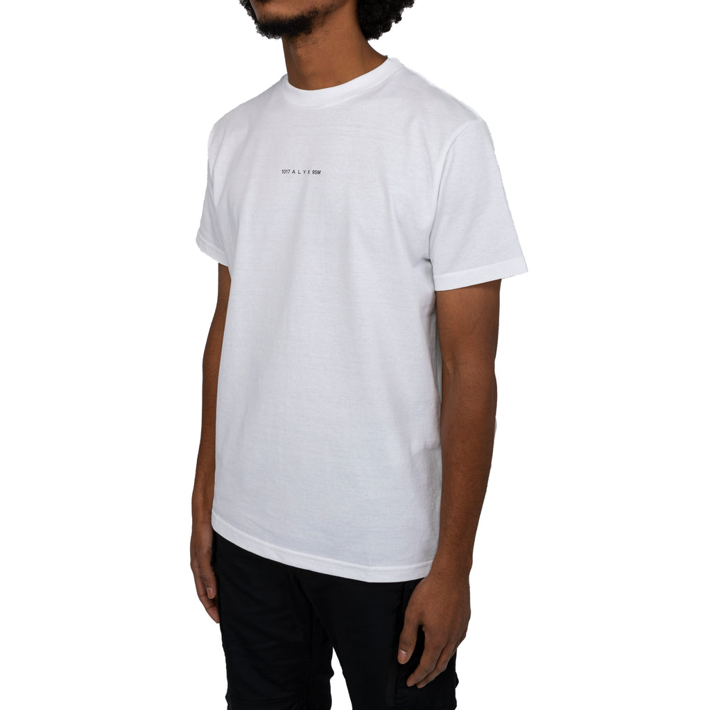 1017 Alyx 9sm FW19 S/S Visual Tee, White