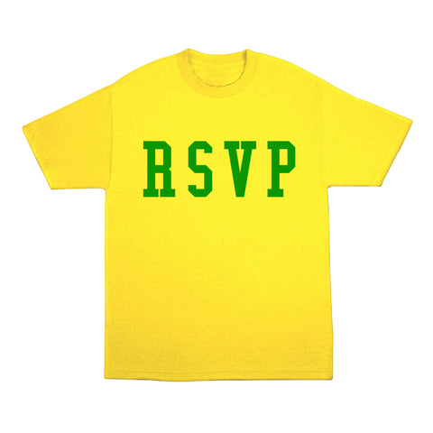 RSVP Gallery Brazil Tee, Yellow/Green